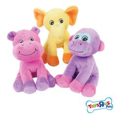 Toys R Us®  Pets Small Plush Sitting Animals - AST  - PetSmart