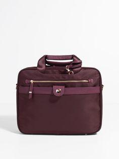 Petit Nylon Briefcase