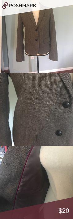 Gap The Academy Blazer houndstooth gray blazer. Gap Academy Blazer size 6. GAP Jackets & Coats Blazers