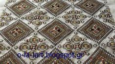 o-la-lart: ΧΑΝΤΡΕΣ ΠΛΑΚΕ ΣΤΑΥΡΟΒΕΛΟΝΙΑ ΟΛΑ ΣΕ ΕΝΑ     Θες ... Beaded Embroidery, Blackwork, Bohemian Rug, Diy And Crafts, Cross Stitch, Blog, Places, Cross Stitch Embroidery, Punto De Cruz