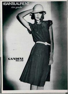 1974 - Saint Laurent Rive Gauche adv