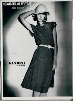 1974 - Saint Laurent Rive Gauche adv