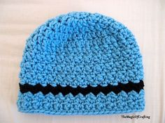 Easy crochet pattern that uses only basic stitc hes - ch,  sc and dc. Easily adapted for smaller and larger sizes, just ...