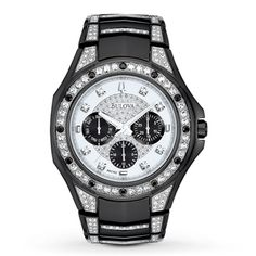 2bbfb2be9e6 270317908 - Bulova Men's Watch 98C102 Watches For Men, Bulova Mens Watches,  Cool Watches