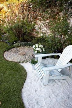 Beach Backyard Ideas backyard beach design A Little Bit Of Beach In Your Back Yard Great Idea And Better Than