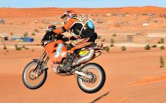 Paris-Dakar Rally x motorcycle.