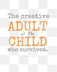 Creative Adult Printable