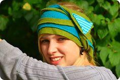 LeNi Farbenfroh: Wickelstirnband