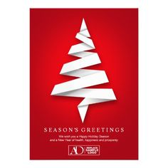 Creative Business Christmas Cards With Logo