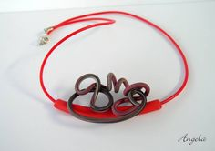 Spring+necklace by angela barenholtz, polymer