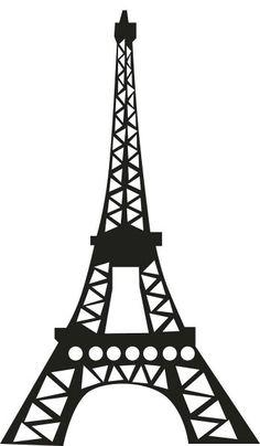 eiffel tower silhouette clipart free stock photo public domain rh pinterest com eiffel tower clip art free eiffel tower clip art printable free