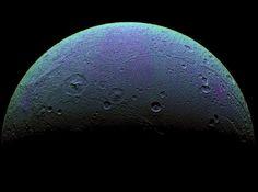 Saturn's moon, Dione.