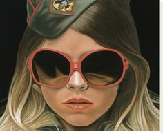 """Scout - crop by Richard Phillips. Stretched canvas print from the Artist Production Fund's """"Works We Love"""" collection on Art.com: http://www.art.com/me/APF"""