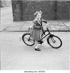 historical-picture-1950s-of-a-sweet-little-girl-on-a-big-bicycle-in-df291d.jpg (520×540)