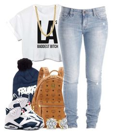 """Untitled #1325"" by lulu-foreva ❤ liked on Polyvore featuring Trukfit, MCM, Retrò and CO"