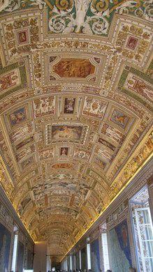Carte Rome Vatican.Gallery Of Maps Galleria Delle Carte Geografiche 10th