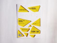 Paper Magazine by Tan Ming Li, via Behance