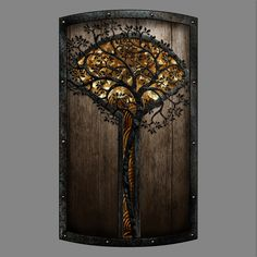 Iron Oak Tall Shield / Dark Souls 2′s Shield Design Contest