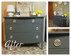life {illustrated}: Refinished Dresser