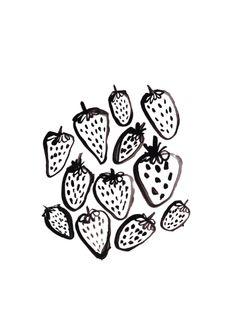 Sharin' strawberries