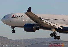 Delta Air Lines Airbus A330-323X N815NW 1