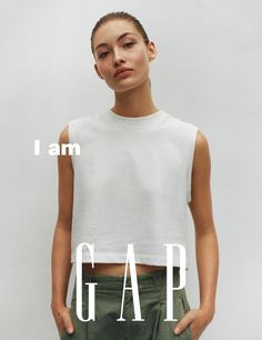 Gap Spring 2017 Ad Campaign Models: Grace Elizabeth, Jing Wen, Sara Cummings Photographer: Tyrone Lebon