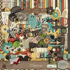 35mm by Wendy Tunison Designs at Scraps N Pieces Store. Fabulous kit, especially for photo booth photos