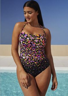High Quality Colorblock Chic Plus Size Sexy One-Piece Bathing Suit 12 Styles L-6XL