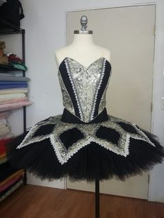Beautiful Black Tutu designed by Tracy Gill