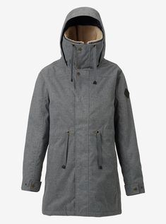 Women's Burton Hazelton Jacket shown in Shade Heather