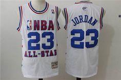 8528294c6 Chicago Bulls 23  Michael Jordan All Star blue Jersey Jordan Sweat