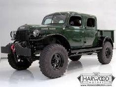 Resultado de imagen para power wagon doble cabina antiguas Dodge Power Wagon, Dodge Trucks, Jeep Truck, Pickup Trucks, Lifted Trucks, Lifted Chevy, Cool Trucks, Big Trucks, Classic Trucks