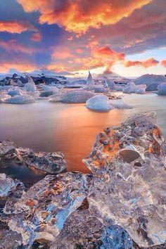Crystal clear ~ Iceland.