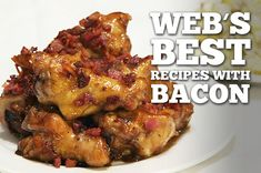 Seeing as how just about every recipe you come across these days includes bacon in one way or another, composing this list was a bit of a challenge. An awesomely delicious challenge, but still a ch...