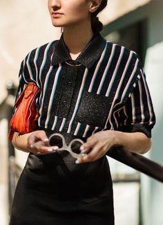 The Polo Shirt / Miu Miu, Proenza Schouler / Garance Doré