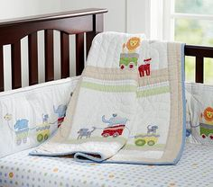 I love the Circus Friends Nursery Bedding on potterybarnkids.com