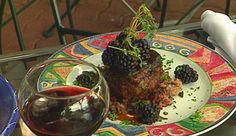 Coriander Crusted Lamb from P. Allen Smith
