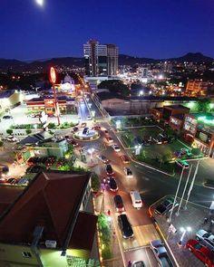 La bella ciudad de Tegucigalpa en Honduras…