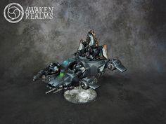 Dark Angels Ravenwing Land Speeder Darkshroud