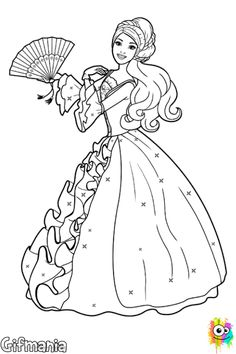printable barbie princess dress colouring book pages printable coloring pages for kids