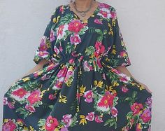 Kaftan, Caftan, kaftan dress, Plus size Maxi Dress, Maternity Nursing gown,pregnancy deliver Hospital gown, Indian caftan, feeding nightwear