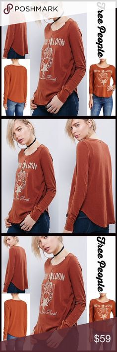 ❤️ FREE PEOPLE TEE Graphic Keyhole Top **Additional Details & Photos will be added soon** NEW WITH TAGS RETAIL PRICE: $78  ITEM:   *   *   *   *   *   *    Material:  Color:  Item#:  # Golden Arrow   No Trades ✅ Offers Considered*✅ *Please use the blue 'offer' button to submit an offer Free People Tops Tees - Long Sleeve
