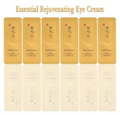 Sulwhasoo Rejuvenating Eye Cream Amore Pacific Korean Cosmetics Sample 40pcs ★