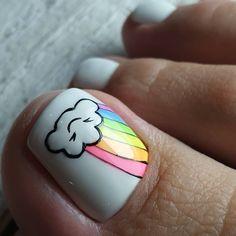 Feet Nail Design, Toe Nail Designs, Pretty Toe Nails, Pretty Toes, Trendy Nail Art, Cute Nail Art, Minimalist Nails, Feet Nails, Beautiful Nail Designs