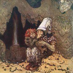"John Bauer «Swedish Folk Tales»   ""Картинки и разговоры"""