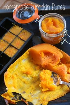 How to substitute real pumpkin for canned.