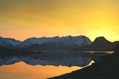 Looking west across Isfjorden, Romsdal