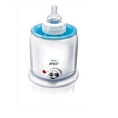 Philips AVENT BPA Free Express Bottle Warmer: this is a life saver and much safer and better for baby then microwave