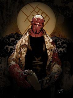 Hellboy by Daniel Acuna
