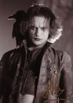 """Vincent Perez in """"The Crow, City of Angels.""""One bad ass movie.""""Hey old man I got something for you..."""""""